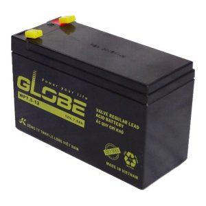 Bình ắc quy kín khí (AGM VRLA) Globe 12V-7.5Ah