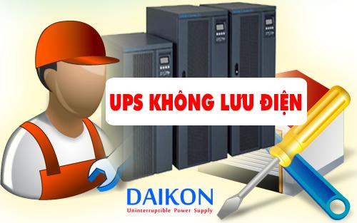UPS không lưu điện