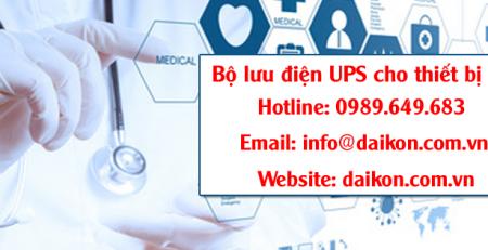 UPS dành cho thiết bị y tế