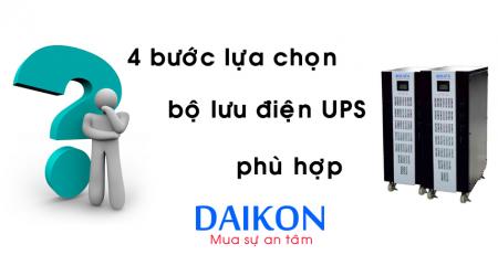 lựa chọn bộ lưu điện UPS