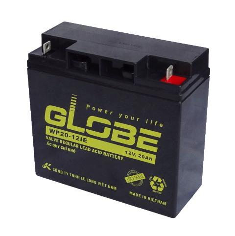 Bình ắc quy kín khí (AGM VRLA) Globe 12V-20Ah