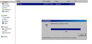 Giao diện phần mềm Winpower khi cài đặt
