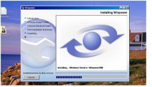 Giao diện cài đặt phần mềm Winpower bước 7