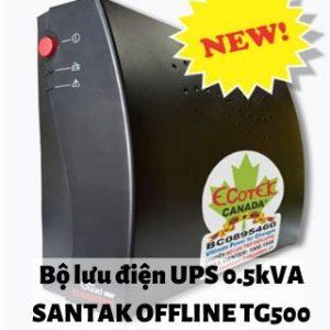 bo-luu-dien-UPS-0.5kVA-SANTAK-OFFLINE-TG500