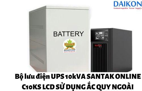 bo-luu-dien-UPS-10kVA-SANTAK-ONLINE-C10KS-LCD-accquy-ngoai