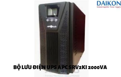 Bộ Lưu Điện UPS APC SRV2KI 2000VA