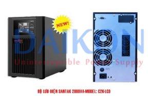 bo-luudien-UPS-2KVA-SANTAK-TRUE-ONLINE-C2K-LCD-chinh-hang
