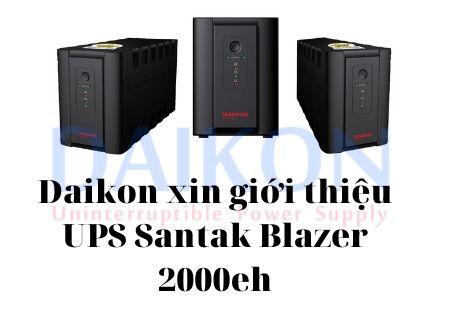 Bộ lưu điện UPS Santak Blazer 2000eh
