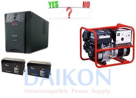 Giờ đây bạn có thể dùng bình tích điện mà không cần đến máy phát điện
