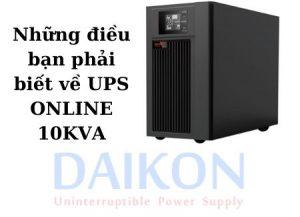 Hướng dẫn sử dụng UPS SANTAK 1KVA ONLINE mà ít người biết đến