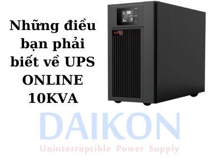 UPS 1kVA Online