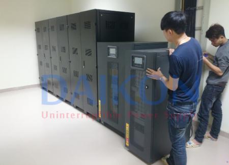 Sử dụng bộ lưu điện dự phòng cho nhà máy