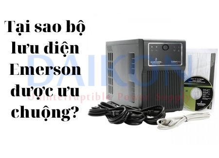 Tại sao bộ lưu điện Emerson được ưa chuộng?