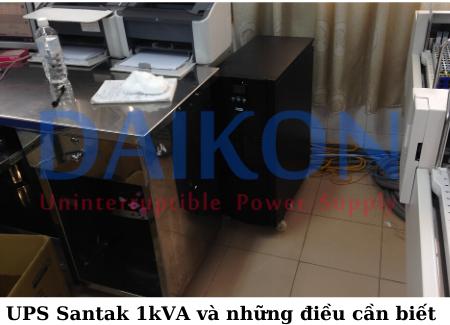 UPS Sant5ak 1kVA và những điều bạn cần biết