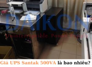 Giá UPS Santak 500VA là bao nhiêu?