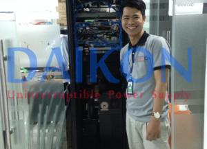 Bộ lưu điện UPS 10kVA tại Công ty Ami