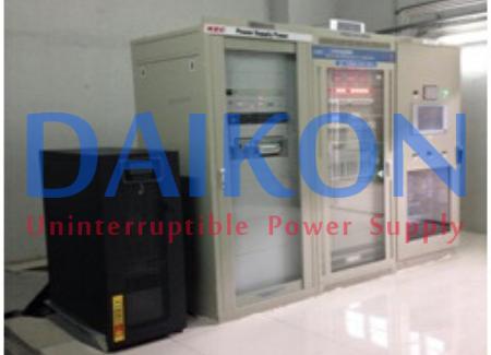 Bộ lưu điện tại công trình thủy điện Lai Châu