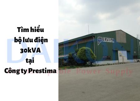 Bộ lưu điện 30kVA tại Công ty Prestima